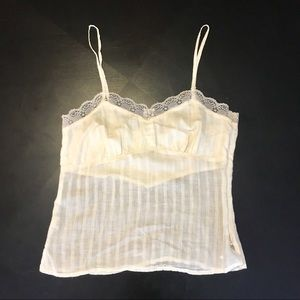 American Eagle ivory camisole top
